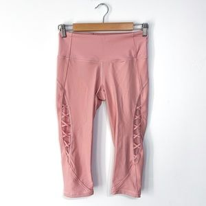 Victoria Secret Sport Knockout Pink Lace Leggings